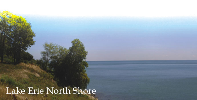 View of Lake Erie, Lake Erie North Shore Appellation